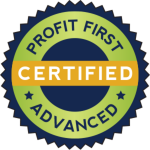 Profit First Advanced Certified Badge